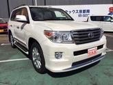 トヨタ ランドクルーザー ZXモデリスタSR本革シートナビ 登録済未使用車